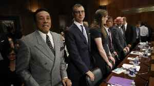News video: Smokey Robinson Talks Music Licensing Laws With Senators