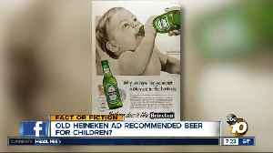 News video: 1950's ad recommended beer for babies?