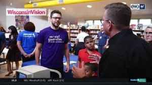 News video: Bucks' Dellavedova helping local kids see clearly