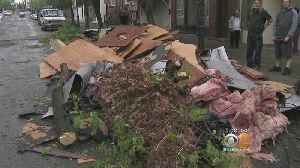 News video: Strong Storm Leaves Trail Of Destruction In Orange County
