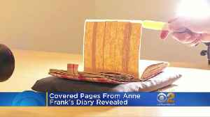 News video: Museum Uncovers Hidden Pages From Anne Frank's Diary