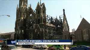 News video: Members of Trinity Church devastated after fire