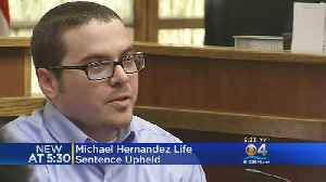 News video: Life Sentence Upheld For Southwood Middle Killer Michael Hernandez