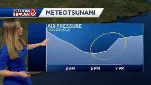 News video: Powerful storm causes rare 'meteotsunami'