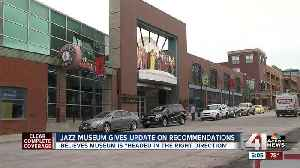 News video: American Jazz Museum say plans in place to move forward