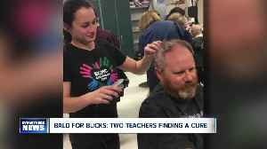 News video: Two Western New York teachers intertwined in push to raise money for cancer research