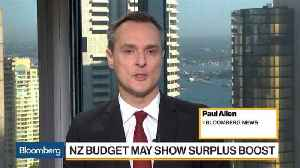 News video: New Zealand Budget May Show Surplus Boost