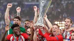 News video: Kings of Lyon: Atletico Madrid beat Marseille in Europa League final