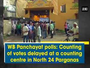 News video: WB Panchayat polls: Counting of votes delayed at a counting centre in North 24 Parganas