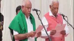 News video: B S Yeddyurappa takes oath as Chief Minister of Karnataka