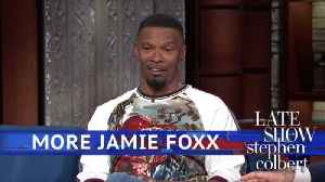 News video: Jamie Foxx Had To Regain His Funny After Watching Chris Tucker