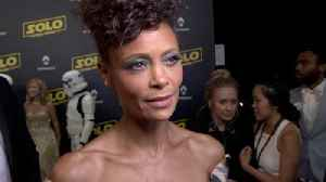 News video: Cannes Premiere 'Solo: A Star Wars Story' : Thandie Newton