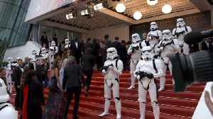 News video: The Glam Red Carpet For  'Solo: A Star Wars Story' In Cannes