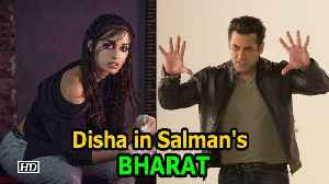 News video: Disha Patani BAGS Salman Khan's 'Bharat'