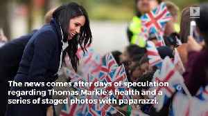 News video: Update: Meghan Markle Confirms Her Father Will Not Attend Royal Wedding