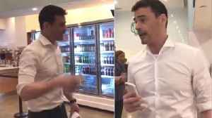 News video: Lawyer Who Ranted at NYC Restaurant Identified as Aaron Schlossberg