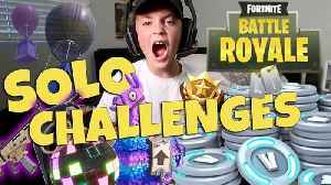 News video: Fortnite Battle Royale Solo Challenges (Rocco Piazza)