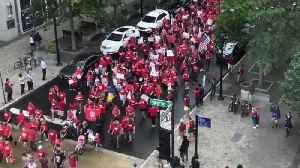News video: Thousands of Teachers March Through Raleigh to Call for Raises, Education Funding