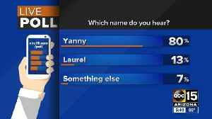 Which name do you hear? Yanny or Laurel? Experts weigh in! [Video]
