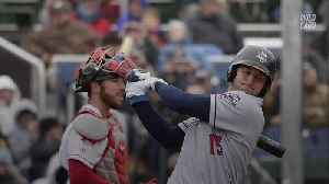 News video: Tim Tebow Now Has Better Numbers Than Some Of Baseball's Most Elite Prospects