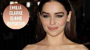News video: Emilia Clarke doesn't want to be a 'strong woman'