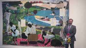 News video: Kerry James Marshall Painting Fetches $18,500,000 In Auction