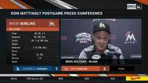 Don Mattingly breaks down Game 2 against the Dodgers [Video]