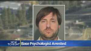 News video: Travis Air Force Base Psychologist Allegedly Fed Dirt To Patient