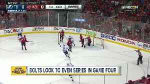 News video: Caps have home-ice disadvantage in Game 4