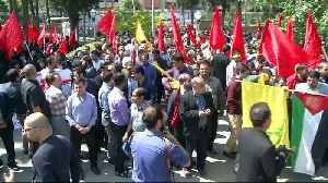 News video: Palestine rally: Protest held in Iran against Israel's Gaza killings