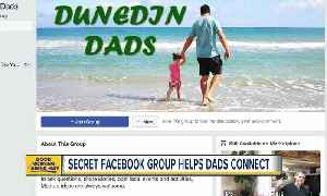 News video: Secret Facebook group helps local dads