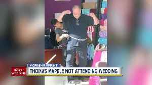 News video: Meghan Markle releases statement announcing her father will not attend royal wedding