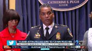 News video: Pugh calling for tougher, 'invasive' questions during vetting for new police commissioner