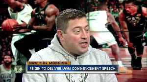 News video: Bucks President Peter Feigin on new coach, arena naming rights