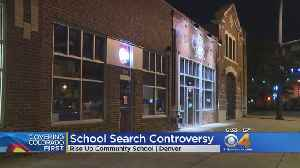 News video: Police Search Inside A School Draws Concerns