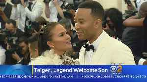 News video: Chrissy Teigen, John Legend Welcome Baby Boy