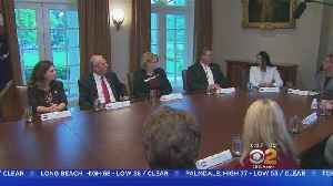 News video: Trump Uses Term 'Animals' During Immigration Discussion With Calif. Officials