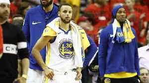 News video: NBA Playoffs: Is Steph Curry's Injury the Cause for His Inconsistent Performance?