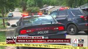 News video: Man rushed to the hospital after shooting in KC