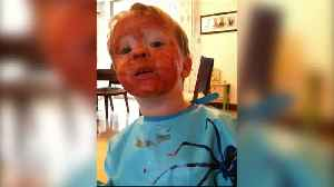 News video: Toddler Boys Make A Huge Mess With Paint And Their Explanation Is Hilarious
