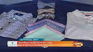 News video: Men's Spring And Summer Fashion