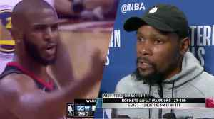 News video: CP3 Cusses Out Kevin Durant!