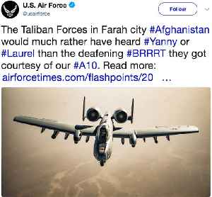 News video: Air Force tweets joke about deadly battle in Afghanistan