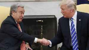 News video: Trump's Meeting With UN Secretary-general Could Get Tense