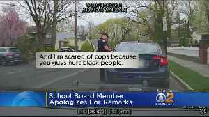 News video: School Board Member Apologizes For Remarks