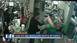 News video: Florida gas station manager tackles shoplifter, thanks customer for stepping in
