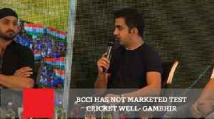 BCCI Has Not Marketed Test Cricket Well- Gambhir [Video]