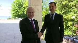 News video: Syria's Assad flies to Russia for talks with Putin