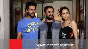 News video: Wrap Up Party Of 'Stree'