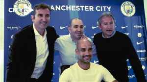 News video: Guardiola happy to extend stay at Man City 'family'